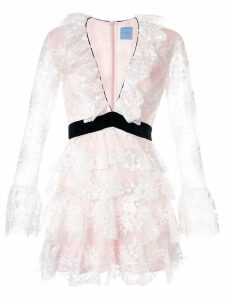 Macgraw Screenplay ruffled dress - Pink