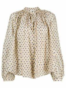 Forte Forte Vaniglia blouse - Neutrals