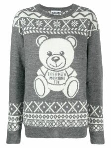 Moschino teddy bear sweater - Grey