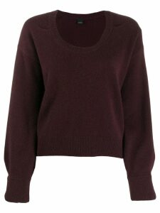 Pinko relaxed jumper - Red