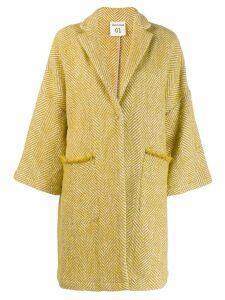 Semicouture Sigmund coat - White