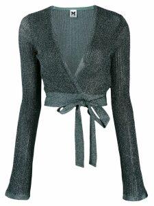 M Missoni knit wrap top - Green