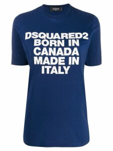 Dsquared2 Born In Canada T-shirt - Blue