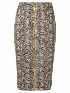 Victoria Beckham pencil skirt - Brown