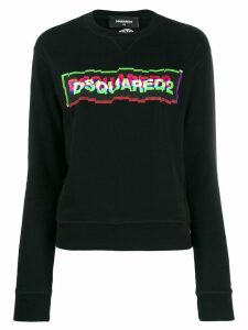 Dsquared2 logo sweatshirt - Black