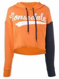 Monse 'Monsedale' cropped hoodie - Orange