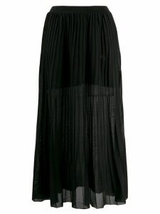 Sonia Rykiel pleated pull-on skirt - Black