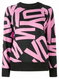 DKNY printed sweatshirt - Black