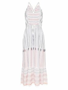 Lemlem Zehna striped maxi dress - White