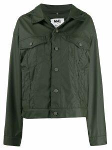 Mm6 Maison Margiela regular fit jacket - Green