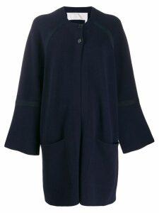Chloé buttoned cardi-coat - Blue