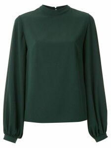 Olympiah mock neck blouse - Green