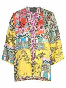 Etro printed kimono jacket - Multicolour