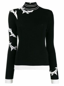 Ermanno Scervino lace insert jumper - Black