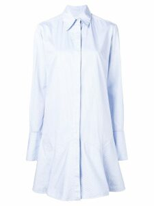 Victoria Victoria Beckham shirt dress - Blue