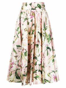 Dolce & Gabbana floral print skirt - Pink