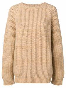 Marni oversized sweatshirt - Neutrals