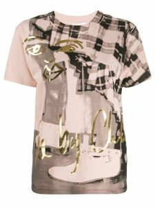 See By Chloé printed T-shirt - Neutrals