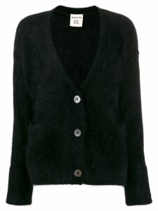 Semicouture oversized knitted cardigan - Black