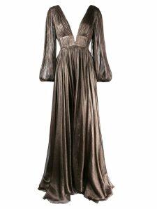 Maria Lucia Hohan Sylvia gown - Brown