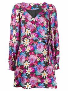 Pinko floral wrap dress