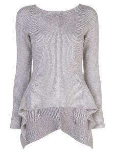 Sies Marjan Grace melange sweater - Grey