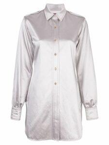 Sies Marjan Kelsi longline shirt - Grey