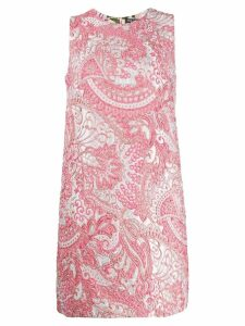 Dolce & Gabbana sleeveless jacquard dress - Pink
