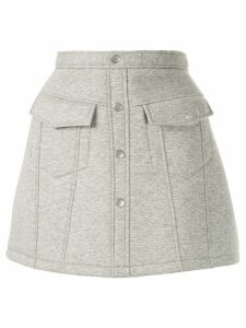 Aje mini A-line skirt - Grey