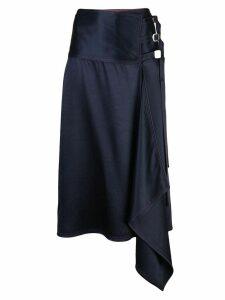 Sies Marjan Tamiko buckle strap skirt - Blue