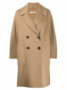 'S Max Mara double breasted coat - Brown