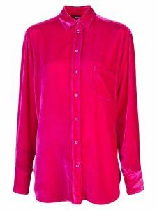 Sies Marjan Sander fluid corduroy shirt - Pink