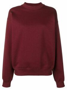 Victoria Victoria Beckham logo tape sweatshirt - Red