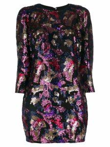 Iro sequin shift dress - Black