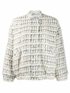 Iro tweed bomber jacket - Neutrals