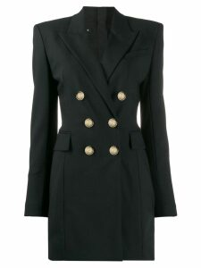 Balmain double-breasted blazer dress - Black