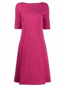 Les Copains flared midi dress - Pink