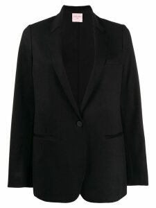 Forte Forte classic single-breasted blazer - Blue