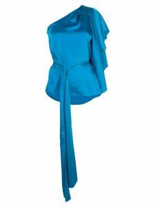 Sachin & Babi asymmetric Lydia blouse - Blue