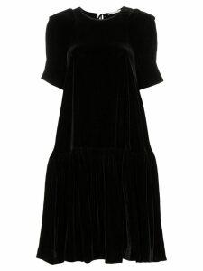 Cecilie Bahnsen flared-hem midi dress - Black