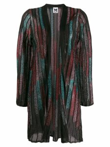 M Missoni lurex cardi-coat - Black