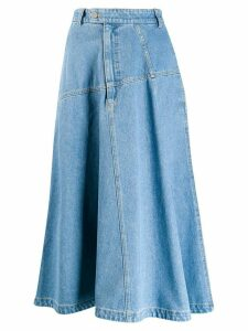 Christian Wijnants denim skirt - Blue