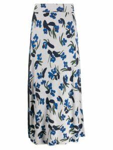 Christian Wijnants floral skirt - White