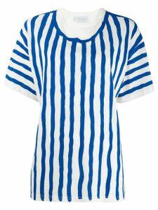 Christian Wijnants stripe top - Blue