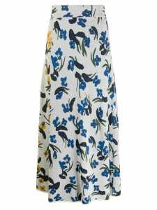 Christian Wijnants floral skirt - White