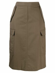 Theory Cargo Skirt - Green