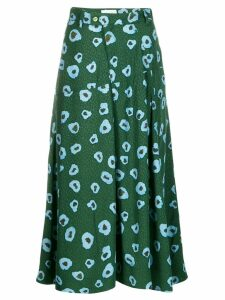 Christian Wijnants pleated skirt - Green