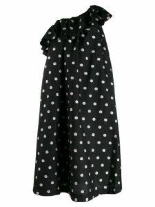 Stine Goya Valentina One Shoulder Dress - Black