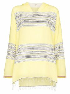Lemlem Amira striped hoodie - Yellow