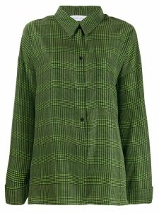 Christian Wijnants check shirt - Green